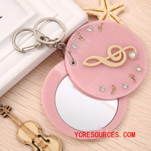 Acrylic Cartoon Mirror&Key Chain Little Mirror (PG06003) pictures & photos