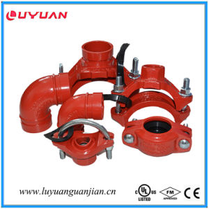 Grooved Pipe Fittings Rigid Coupling for Fire Sprinkler Systems with UL/ULC Listed pictures & photos