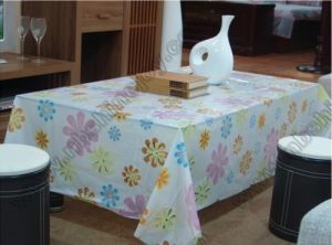Flower Design Table Cover pictures & photos