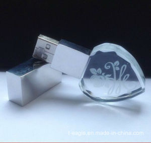 CE Approved 4GB Gift Crystal USB Flash Disk (FD-205) pictures & photos