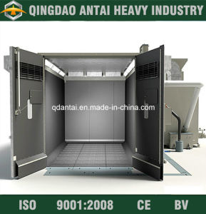 Sand Blasting Room with Automatic Recovery System