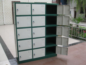 15 Doors Metal Shoes Lockers Manufacturers pictures & photos