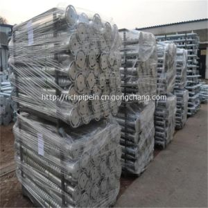 Factory Supply Hot Dipped Galvanized Ground Screw Pole Anchor & Helical Piles with Best Soil Anchors pictures & photos