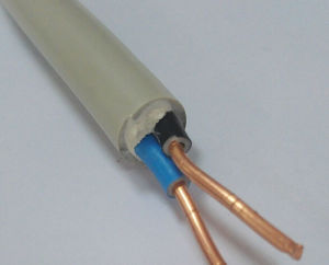 Electrical Wrie 2X1.5, 2X2.5, 1X1.5, 1X2.5 with Double Color Insulation Wire pictures & photos