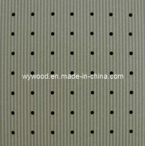 Perforated Wooden Acoustic Panel (E16/3-10/15) pictures & photos