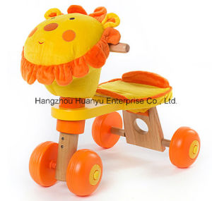 New Design Wooden Bicycle with Lion Head pictures & photos