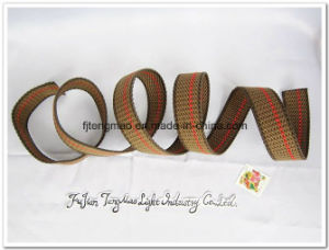"1"" Cotton Webbing with Red Line pictures & photos"