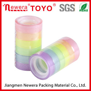 6 Gem Color BOPP Acrylic Stationery Tape pictures & photos