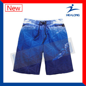 Healong Factory Free Sample Sublimation Beach Boardd Shorts for Mens pictures & photos