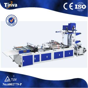 High Speed Plastic Express Courier Bag Making Machine pictures & photos