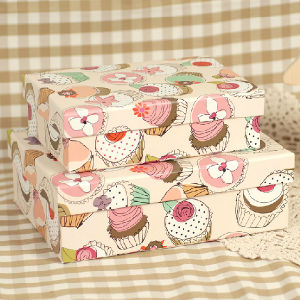 Ice Cream Printed Paper Gift Packing Box pictures & photos