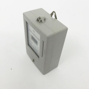 Single Phase Electric Prepaid Meter with IC Card for Sale pictures & photos