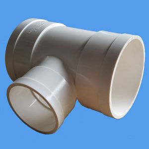 High Quality PVC Equal Tee Water Drainage AS/NZS1260 Standard PVC Pipe Fittings pictures & photos