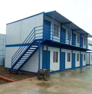 Prefabricated Houses for Workers Living Room pictures & photos