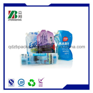 BPA Free Printing Plastic Liquid Stand up Spout Pouches pictures & photos