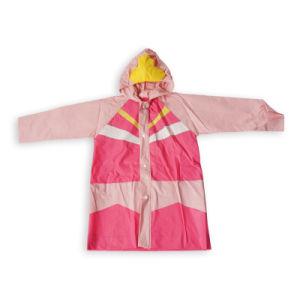 Children′s Wind Breaker&Waterproof Coat (sm-w1004) pictures & photos
