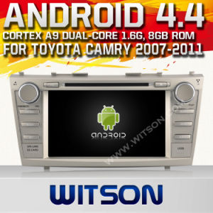 Witson Android O. S. 4.4 Version Car DVD for Toyota Camry 2007-2011 (W2-A9117T) pictures & photos