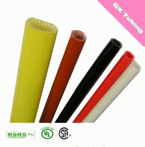 Insulating Cold Resistance Silicone Resin Fiberglass Sleeving for Automotive pictures & photos