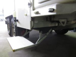 Single Electric Folding Step for Motorhome, Motorhome Step pictures & photos