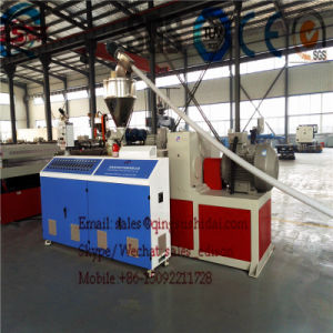 PVC Crust Foam Board Extrusion Machine PVC Crust Foam Board Plastic Machine PVC Crust Foam Board Production Machine pictures & photos