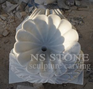 Marble Two Tiered Water Garden Fountain Mf1763 pictures & photos