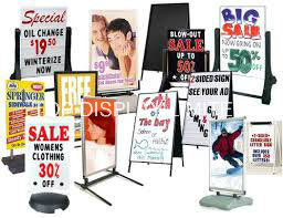 "Factory Wholesale Corflute Insertable Snap a Frame Sandwich Boards Portable Sidewalk Sign Advertising Euipment Portable 24""X36"" Display Stand Metal Poster Frame pictures & photos"