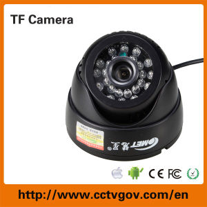 Mini IR Dome CCTV Digital Web Camera with USB Output TF Card 32GB pictures & photos