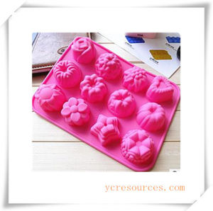 16 Cavity Oval Silicone Mold for Soap, Cake, Cupcake, Brownieand More (HA36011) pictures & photos