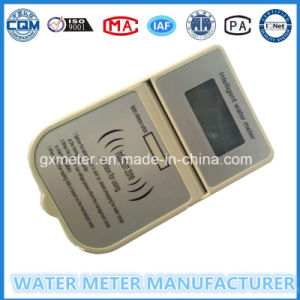 IC/RF Card Prepaid Smart Water Meter with English System pictures & photos