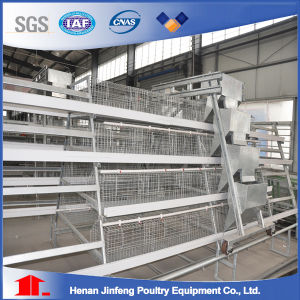 Automatic H Type Chicken Cage System Poultry Cage pictures & photos