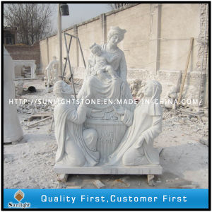 Natural White Marble Carving Sculpture pictures & photos