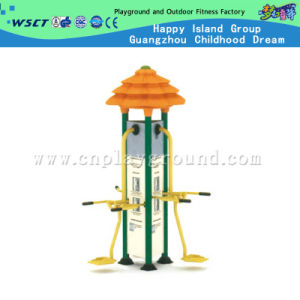 Outdoor Body-Building Equipment 3 Station Outdoor Fitness Swaying Board (HD-13203) pictures & photos