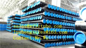 18inch Sch40 API 5L X42 Seamless Steel Pipe for Oil, Black Steel Pipe ASTM A106 Gr. B pictures & photos