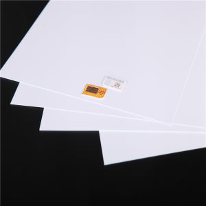 White Plastical Card Making for ABS SIM Card pictures & photos