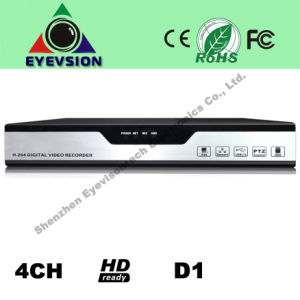 4CH H. 264 D1 Security Camera DVR (EV-8104HD) pictures & photos