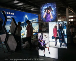 Special Shape LED Double Sided Fabric Light Box pictures & photos