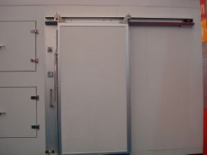 Hand White Sliding Door with CE pictures & photos