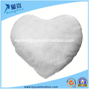 Heart Shape Polyster Pilow Inner pictures & photos