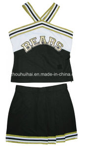 2016 Cheerleading Uniforms: Shell Top and Aline Skirt pictures & photos