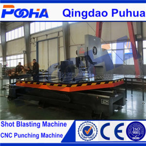Screen Mesh Hole CNC Punching Machine with Feeding Platform pictures & photos