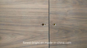 Black Walnut Veneered Flush Wood Door pictures & photos