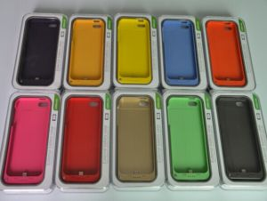 2200mAh for iPhone 5/5c Battery Case Portable Power Bank (OM-PW5C) pictures & photos