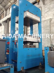 Rubber Solid Tire Plate Curing Vulcanizing Press Vulcanizer Machine pictures & photos