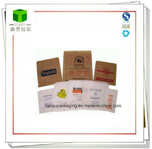 Block Bottom, Flat Bottom Paper Bag for Food pictures & photos