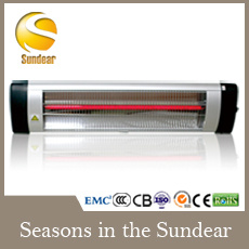 Waterproof Infrared Electric Outdoor Heater