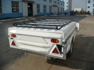 Fiberglass Camper Trailer -White Color (LH-CPT-11A) pictures & photos
