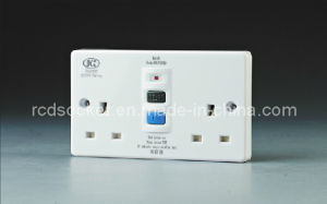 RCD Wall Flat Plate Socket (BKZ0230PW) pictures & photos