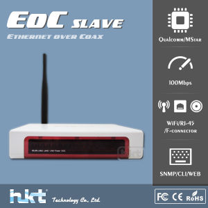 Eoc Slave Qualcomm Ar7411/Mstar with WiFi, 2015 Hotest Sale Communication Equipment of Coax Network