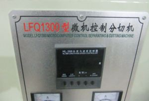 Micro-Computer Control Slitting Rewinding Machine Cutting Machine (LFQ1300) pictures & photos