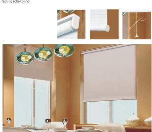 Spring Roller Blind for Window (CB-91) pictures & photos